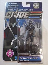 GI Joe 30th Anniversary Renegades SNAKE EYES MOC new Sealed
