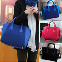 Women Lady PU Leather Shoulder Handbag Crossbody Satchel Bag Tote Purse Handbag