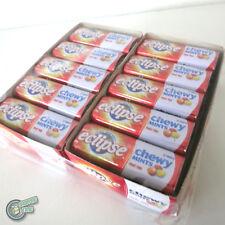 20x 27pcs Eclipse Chewy Mint Fruit Trio Orange Metal Tin Box Wrigley's Wrigley