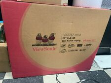 "ViewSonic VX2757-MHD 27"" LCD 1920 x 1080 Full HD Gaming Monitor 16:9 2 ms"