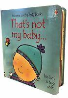 That's not my Toddlers Books Collection Set Fiona Watt Fairy Kittenn Mermaid