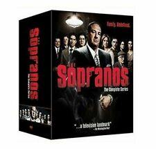 THE SOPRANOS THE COMPLETE SERIES SEASONS 1-6 DVD, 2014, 30-DISC SET,BOX SET