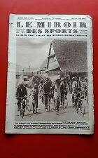 Le Miroir des Sports 385 du 2/08/1927