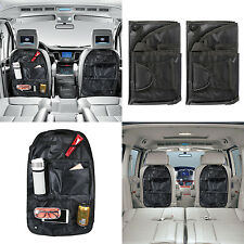 2x Car Auto Back Seat Hanging Collector Organizer Storage Multi-Pocket Hold Bag