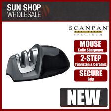 100% Genuine! Scanpan Soft Touch Spectrum Mouse Knife Sharpener Black!