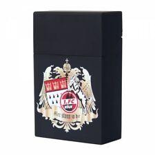 Rubber Box Zigarettenbox schwarz Stadtwappen 1. FC Köln
