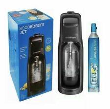 Sodastream Jet Sparkling Water Maker With CO2 Cylinder & BPA Free Bottle - Black