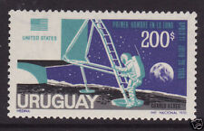 Timbres de l'Amérique latine sur espace