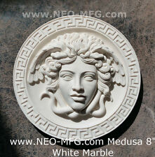 "History Medusa Versace Rondanini design Artifact Carved Sculpture Statue 8"""