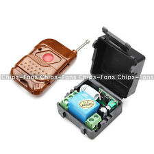 DC 12V 315MHz 1 Channel Wireless Remote Control Switch Transmitter And Receiver