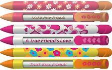 Greeting Pen Friend Pen - Daisy and Heart Trio 6 Pen Set 36543