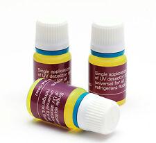 UV - Kontrastmittel zur Lecksuche KFZ- Klimaanlagen 1x 7,5 ml,  R134A, R1234YF