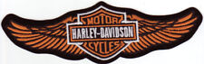 Harley Davidson Aufnäher/Patch Modell Straight Wings Rot
