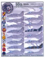 Furball Decals 1/72 A-4 SKYHAWK LO VIZ DEVIL DOG SCOOTERS