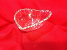 Le Monde Heart Bowl Swarovski Crystal(310+) Jeweled w/Decal attached
