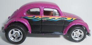 Hot Wheels Preferred Series Volkswagen Bug Purple, Real Riders Loose 2002