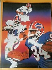 THURMAN THOMAS MAGAZINE PAGE CUTOUT BUFFALO BILLS FREE SHIPPING