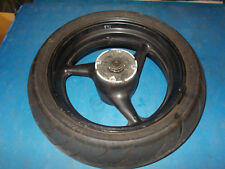 HONDA CBR 600 F4I CBR600F4i FI SINGLE SEAT 2001 REAR WHEEL WITH TYRE