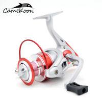 CAMEKOON Spinning Fishing Reels 10Bearings Ultralight Smooth Powerful Carp Reels