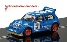 Scalextric C3639 MG Metro 6R4-No.35 - Willie Rutherford-Nuevo y Sellado