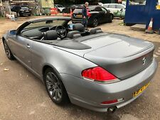 07 BMW 630I 3.0 CONVERTIBLE **AUTO, SAT NAV, FULL LEATHER, CLIMATE, 6 SERVICES**