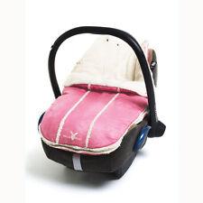 New Wallaboo Newborn Footmuff - Car Seat/Pram Liner - Pink - 0-12 months