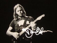 David Gilmour Autographed Signed 8x10 ( Pink Floyd ) Photo REPRINT