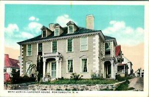 C51-7767, WENTWORTH GARDNER HOUSE, PORTSMOUTH, NH. POST CARD.