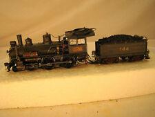 4-4-0  HO DCC and Sound Steam Logging Locomotive - custom weathered - lot 12