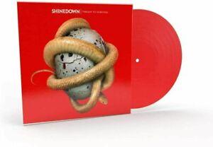 SHINEDOWN : THREAT TO SURVIVAL: RED VINYL LP ALBUM *IN STOCK NOW