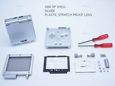 Silver Nintendo Game Boy Advance SP GBA Case Casing Shell Housing Tools sticker
