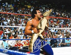 Ricky Steamboat Signed WWE 11x14 Photo BAS Beckett COA WCW Picture Autograph 3
