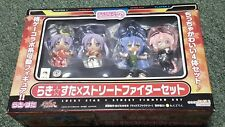 Lucky Star x Street Fighter-Petite Nendoroid Figure Set- Good Smile Company- NEW