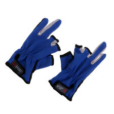 Fishing Gloves Absorb Sweat 3 Half-Finger Gloves for Photography,Cycling
