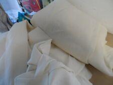 Rh Textured Belgian Linen 1 Panel 50 x 96 White new