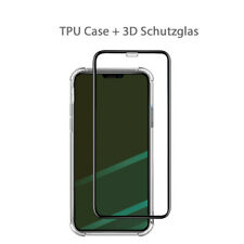 Hülle iPhone XR 360° Case 3d Panzerfolie Full Cover Handy Bumper Schutzglas 9h