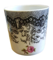 New Authentic Limoges - Signed Porcelain Hand Painted Cup (Made in France)