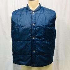 Vintage Sears Parka para Hombre Azul Trabajo Exterior Esquí Camiseta TALLA L