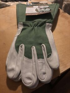 Bellingham Glove C7352M Medium Green Thorn Resistant Gauntlet Gloves