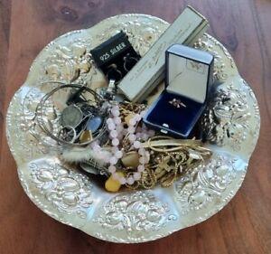 Omas Schmuck Konvolut Gold Silber Mode