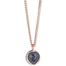 Modeschmuck-Halsketten & -Anhänger aus Glas mit Kristall und Herz-Schliffform