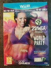 Zumba Fitness World Party English Big Box Nintendo Wii U