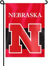 """Nebraska Cornhuskers 13"""" x 18"""" Two Sided Garden Flag Ncaa Licensed"""