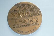 grande médaille en bronze l'autoroute A5 paris Rhin Rhône 1500 KM 1995