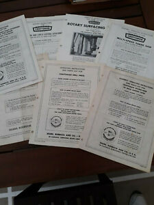 Vintage Sears, Roebuck Craftsman Tools Owners Manual Guides Lot