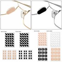 12 Pairs EVA Foam Self-Adhesive Stick On Anti-Slip Eyeglass Glasses Nose Pads