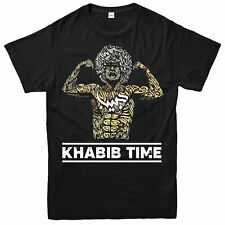 Khabib Nurmagomedov T-Shirt árabe Boxeo T-Shirt Camiseta Mma Ufc Unisex Camiseta Top
