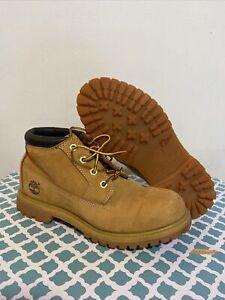 TIMBERLAND Women's Wheat Nubuck Leather Nellie Chukka Boots Size 8M 23346