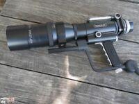 Novoflex Tele-Objektiv für Minolta Noflexar 400 mm f 5,6+ Pistock+ Mina+Pistar