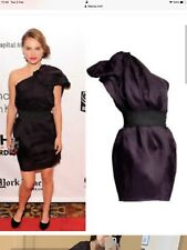 Lanvin for H&M de un hombro vestido de color berenjena Uk8 34 euros